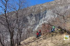 La Roccaccia Monte Petrano 17.02.19