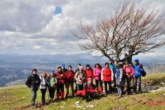 Monte Nerone 1 aprile 2013