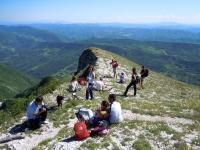 Monte Nerone: l\'anello alto