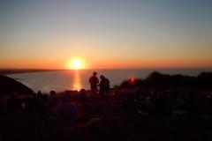 San Bartolo al tramonto