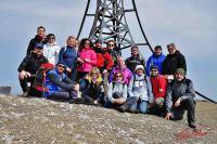 vetta Monte Catria 25 marzo 2012
